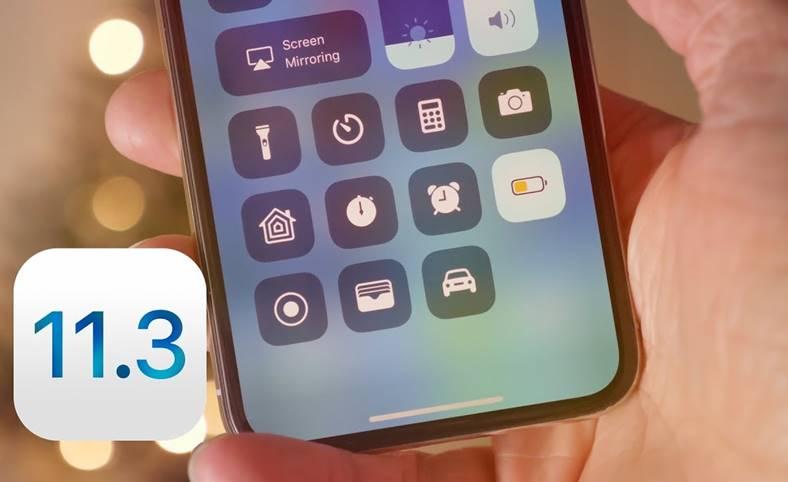 iOS 11.3 beta 3 performante iOS 11.2.6 iphone