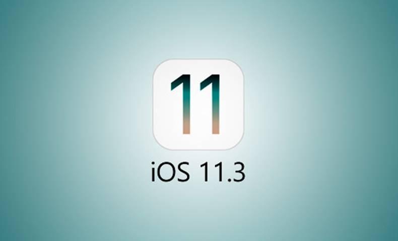 iOS 11.3 lansare