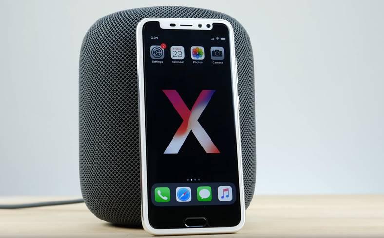 iPhone x clona buton home