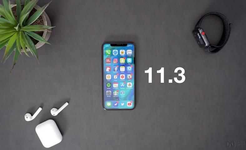 ios 11.3 beta 2 performante ios 11.2.5
