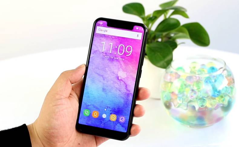 oukitel u18 ieftina clona iphone x