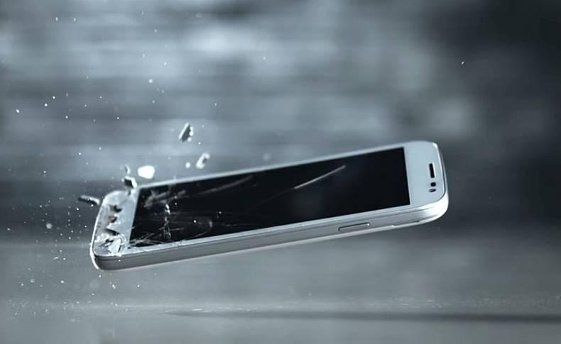smartphone ecran diamant