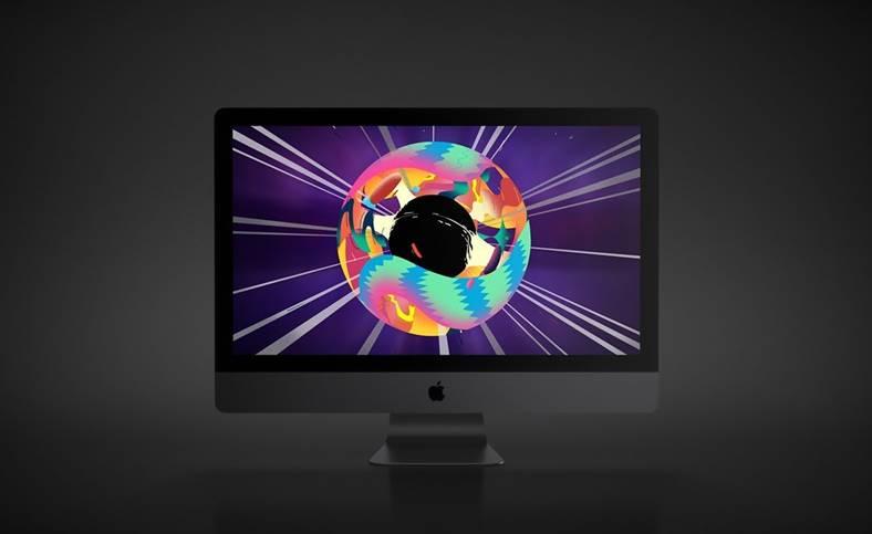 Apple iMac pro promovare