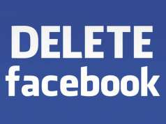 Delete Facebook Cucerit Lumea