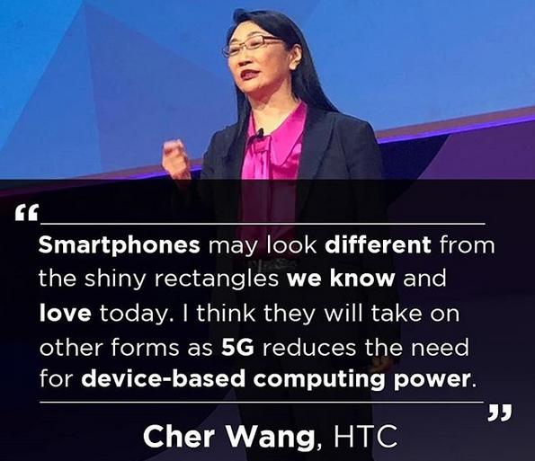 HTC retele 5G forma smartphone
