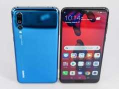 Huawei P20 Pro BUNA Camera Galaxy S9 iPhone X
