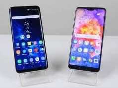 Huawei P20 Pro Samsung Galaxy S9 Plus Rapid