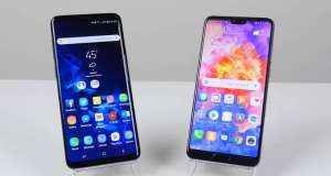 Huawei P20 Pro Samsung Galaxy S9 Plus Rapid