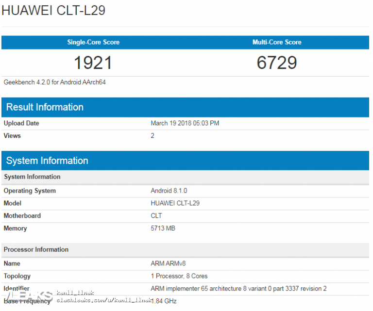 Huawei P20 Pro performante