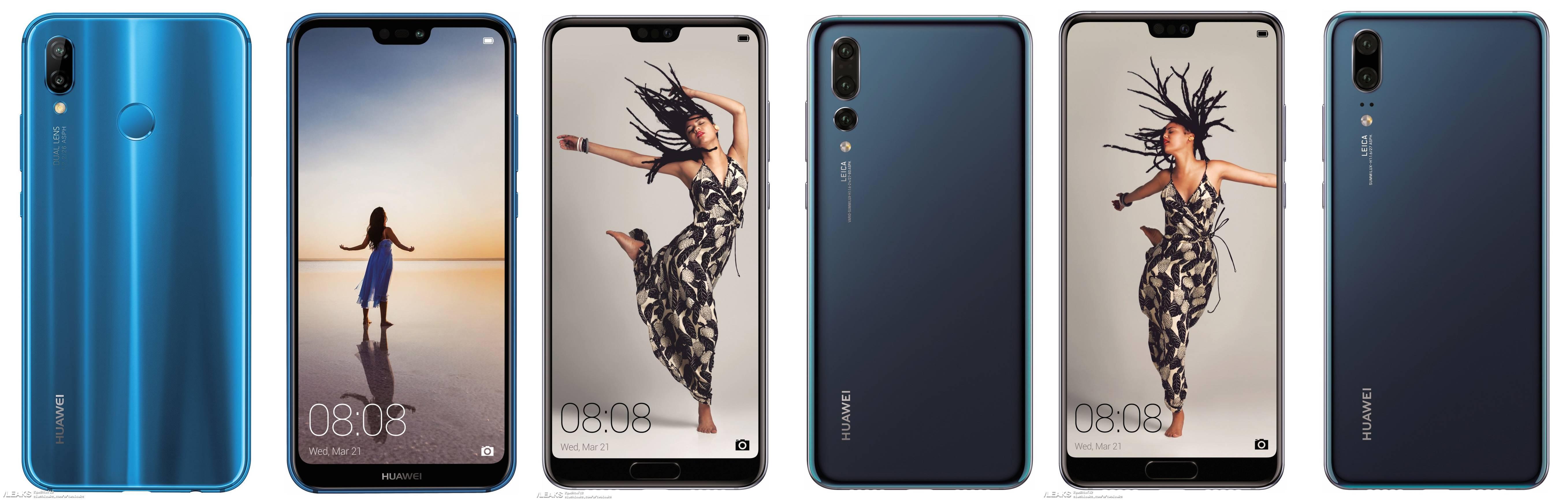 Huawei P20 design imagini oficial 1