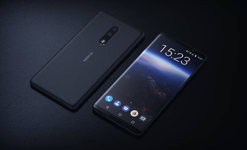 Nokia 9 Functia iPhone X Galaxy S9