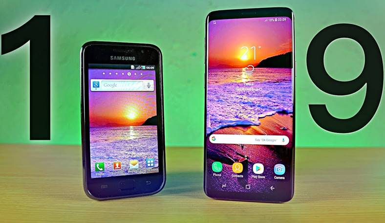 Samsung Galaxy S1 Galaxy S9 8 Ani Evolutie Copierea iPhone