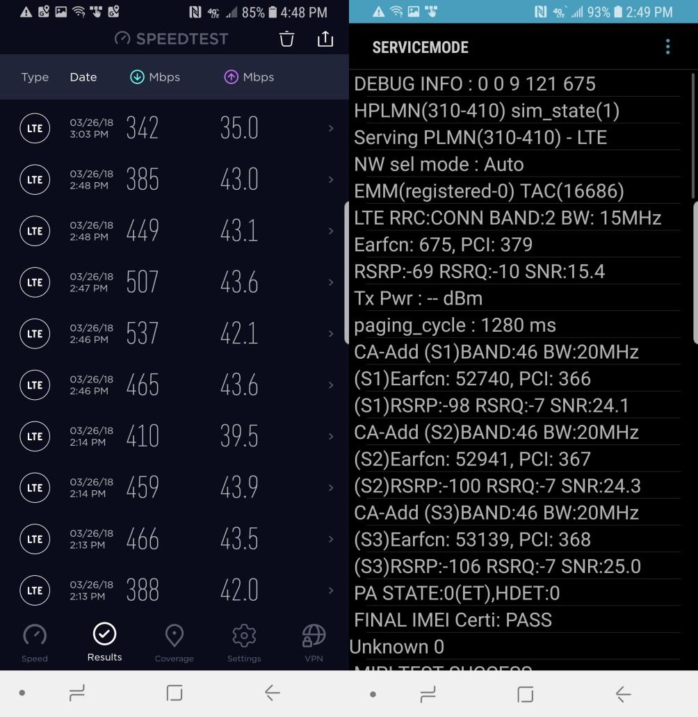 Samsung Galaxy S9 PROBLEMA Lacomie Apple iPhone X 1