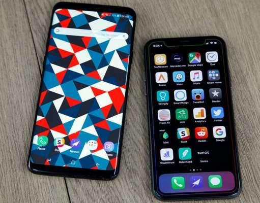 Samsung Galaxy S9 PROBLEMA Lacomie Apple iPhone X