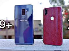 Samsung Galaxy S9 Plus iPhone X Exynos 9810 A11 Bionic