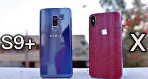 Samsung Galaxy S9 Rezistent iPhone X