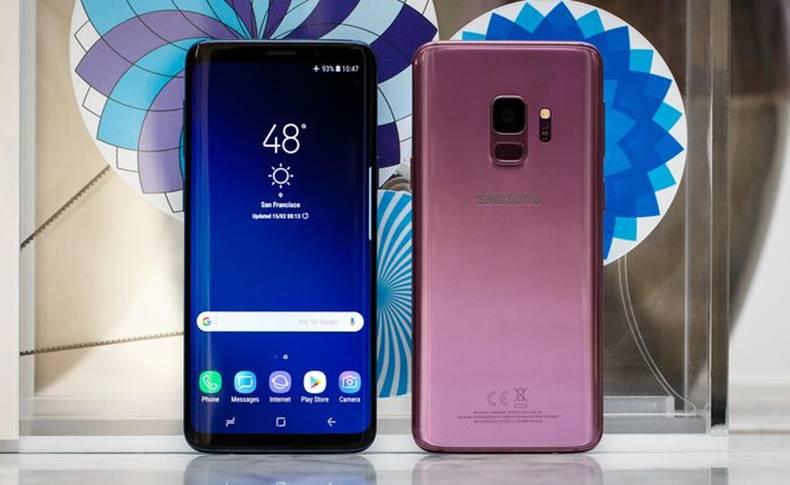 Samsung Galaxy S9 anunt vizitatori