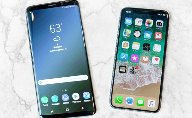 Samsung Galaxy S9 iPhone X Comparatia Performantelor