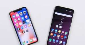 Samsung Galaxy S9 iPhone X Face ID Comparat Intelligent Scan