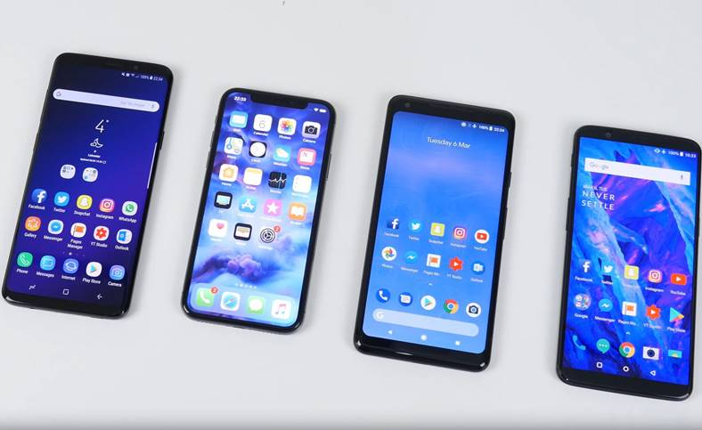 Samsung Galaxy S9, iPhone X, Pixel 2, OnePlus 5T Incarcare Rapida
