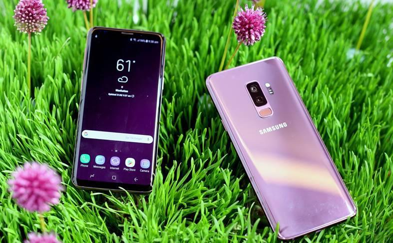 Samsung Galaxy S9 usor indoaie