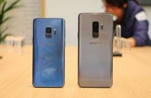 Samsung Galaxy S9 vanzari mici