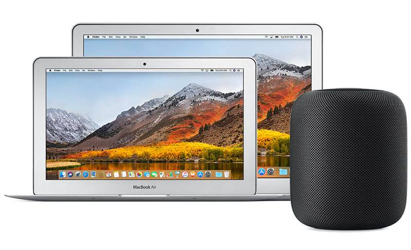 costa homepod macbook air 2018