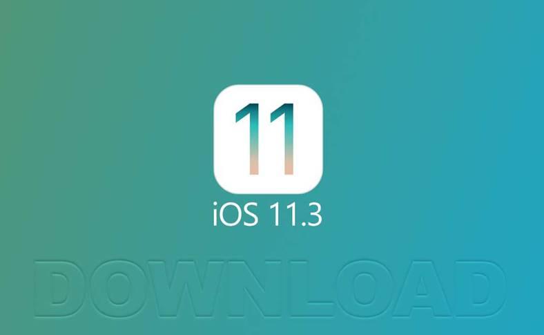 iOS 11.3 Descarca iPhone iPad