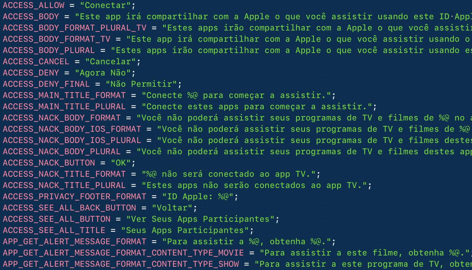 iOS 11.3 TV brazilia