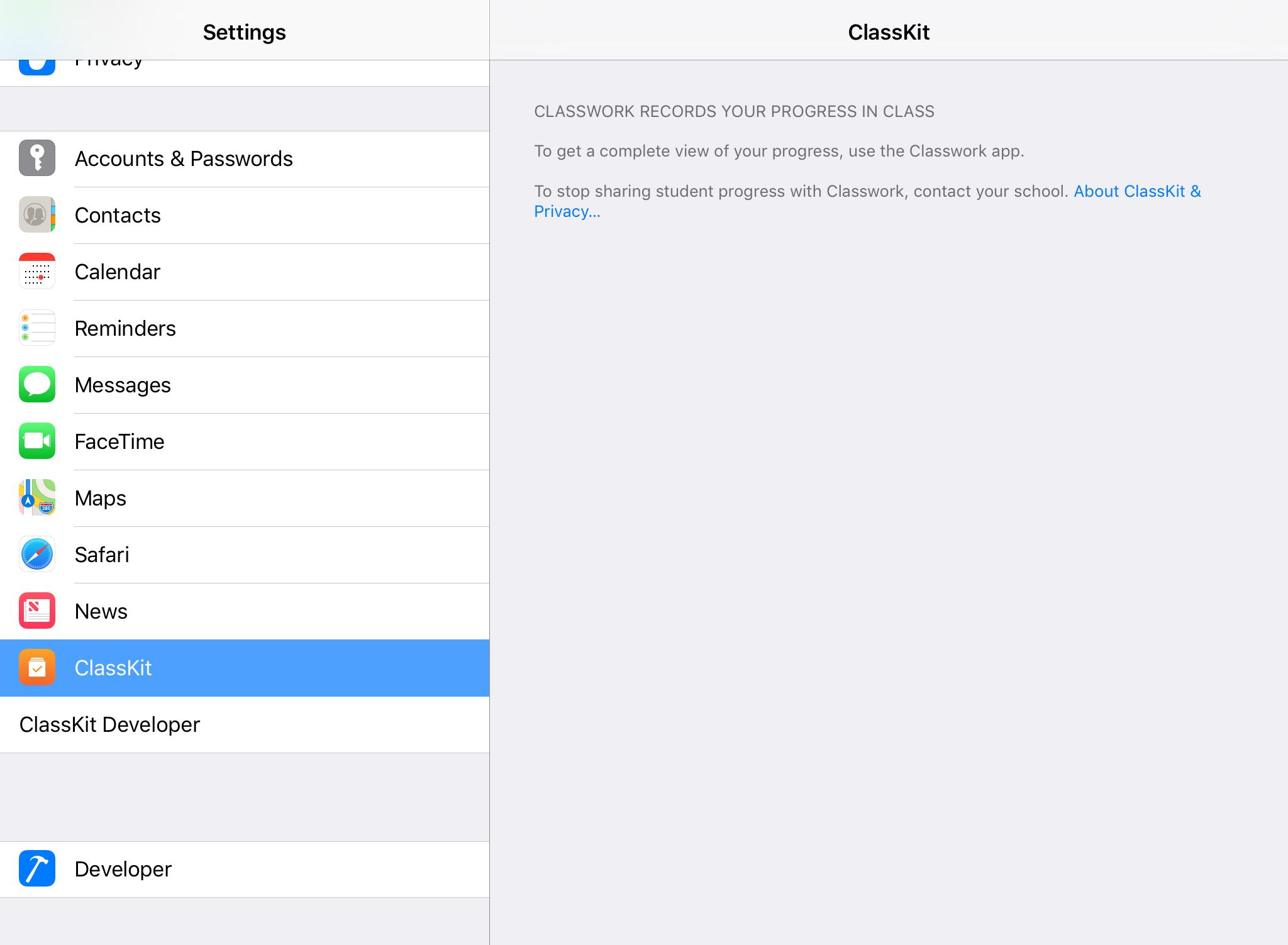 iOS 11.3 classwork