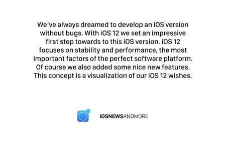 iOS 12 concept iPhone 1