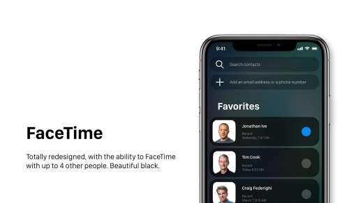 iOS 12 concept iPhone 13