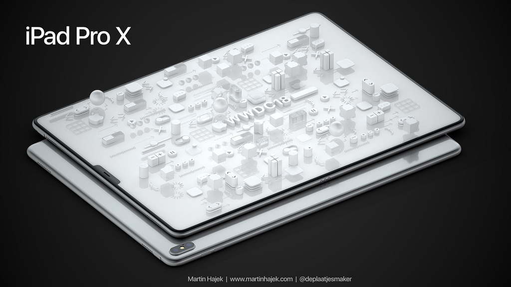 iPad Pro X concept 2018 1