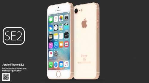 iPhone SE 2 concept frumos