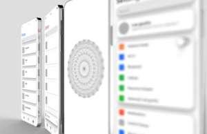 iPhone X concept decupaj