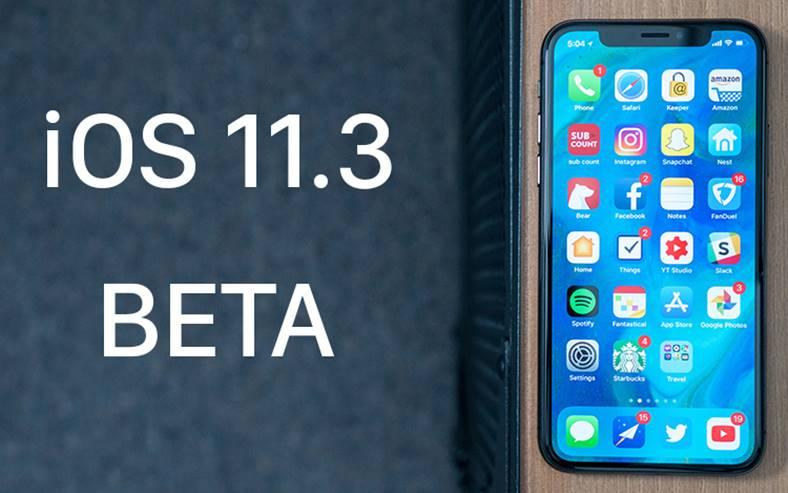 ios 11.3 public beta 4 instaleaza iphone ipad