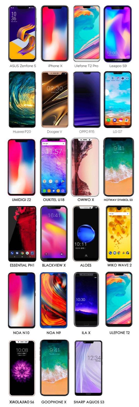 iphone x clone penibile