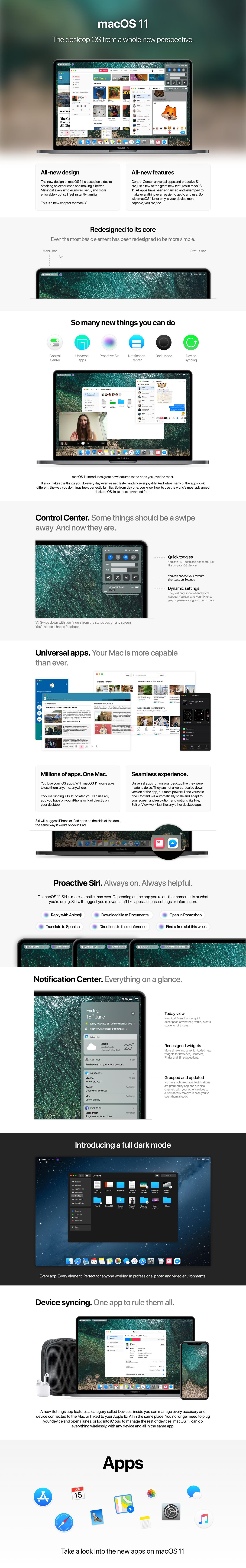 macOS 11 concept Apple