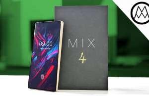DOOGEE MIX 4 telefon ecran margini iphone x