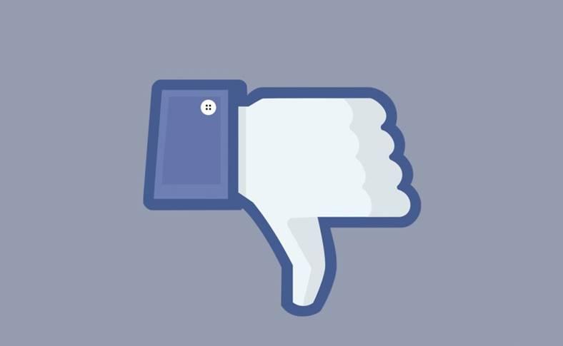 Facebook lansat buton dislike
