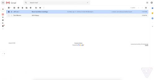 GMail design nou Google 4