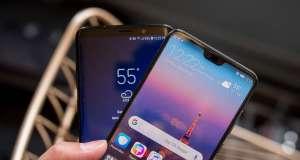 Huawei P20 Pro Samsung Galaxy S9 comparatie camera