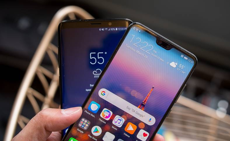 Huawei P20 Pro Samsung Galaxy S9 comparatie camera