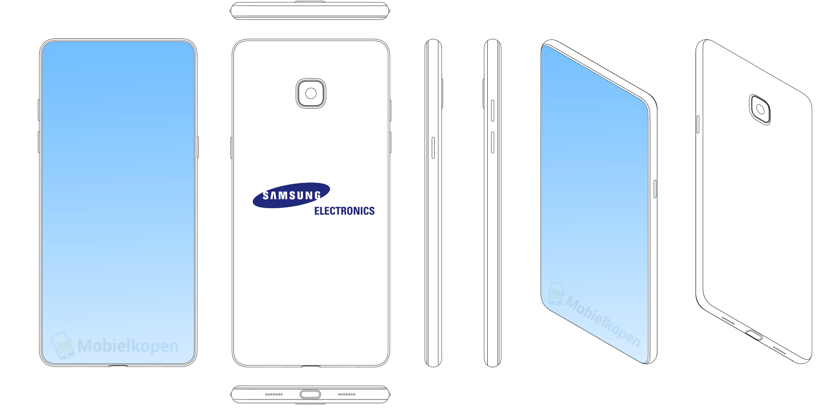 Samsung COPIEZE Decupaj iPhone X 2