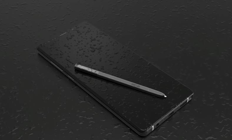 Samsung Galaxy Note 9 concept iphone x invechit