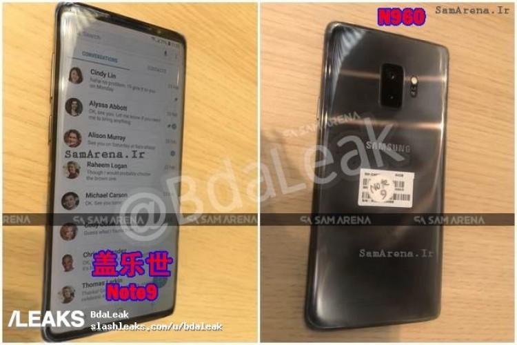 Samsung Galaxy Note 9 unitate reala imagini 2