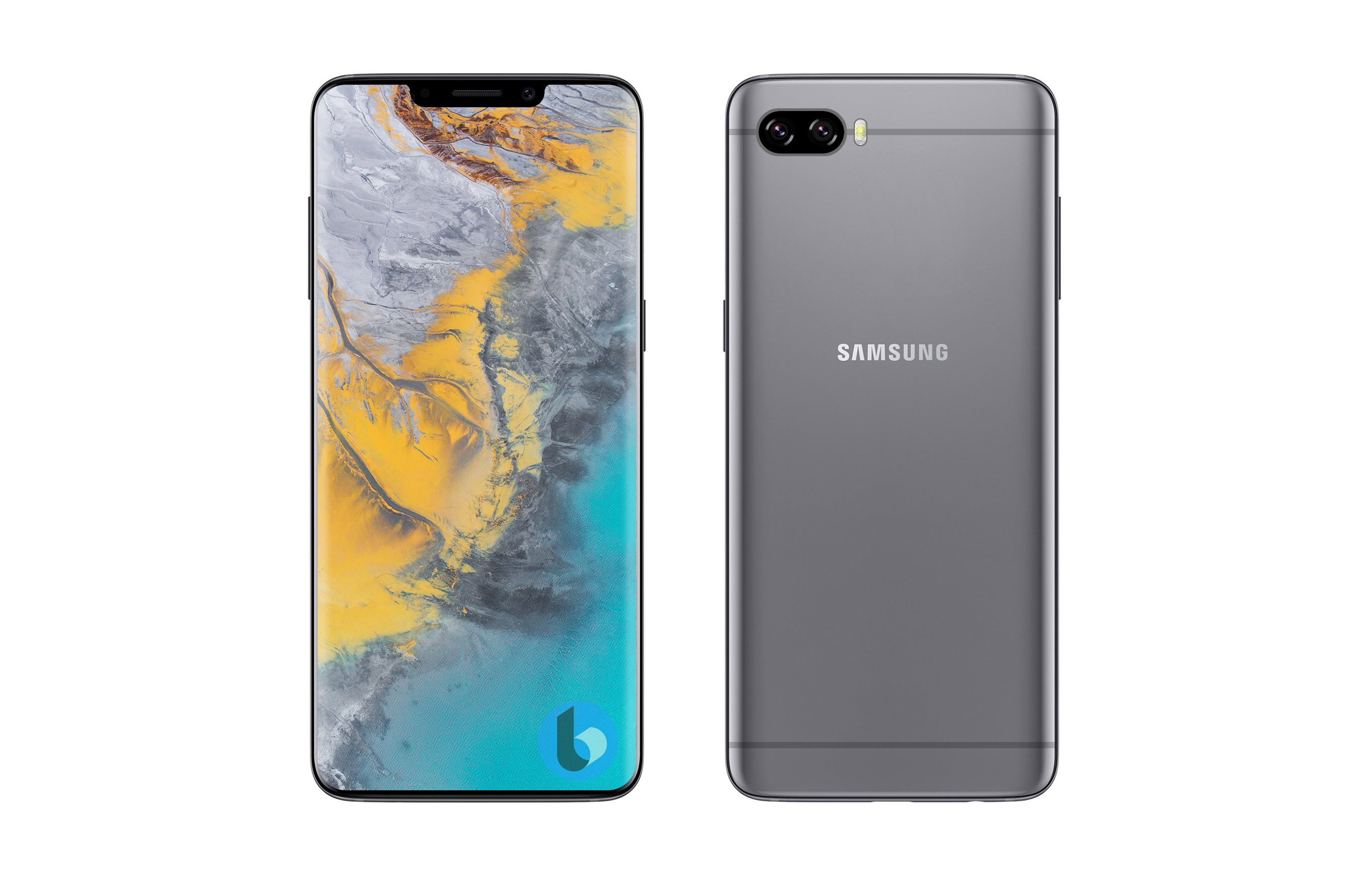 Samsung Galaxy S10 copiat iPhone X decupaj