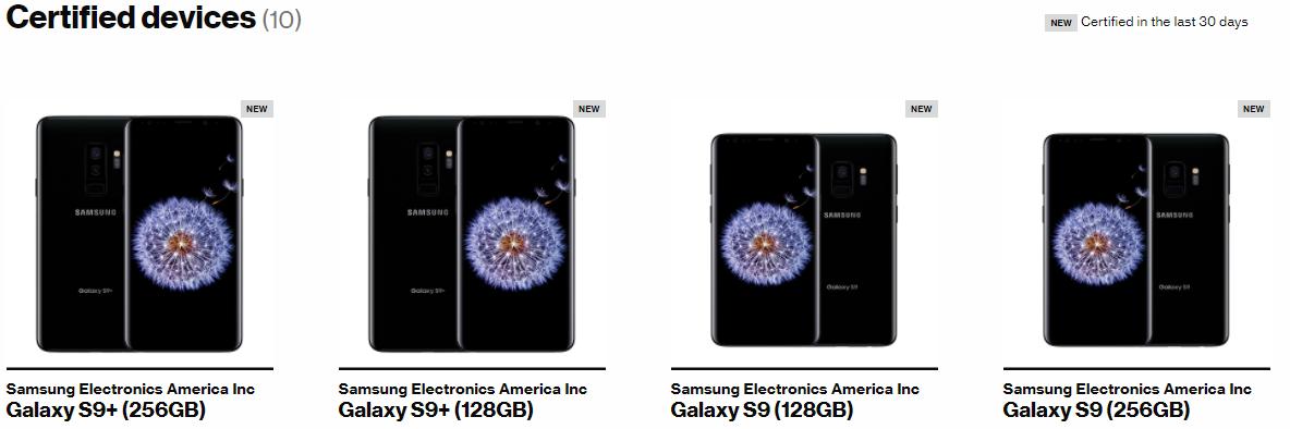Samsung Galaxy S9 oficial noi modele 128 gb 256 gb