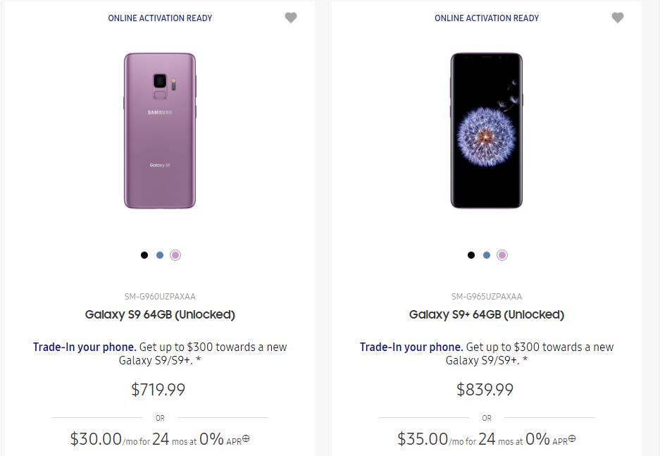 Samsung Galaxy S9 preturi reduse disperare 1