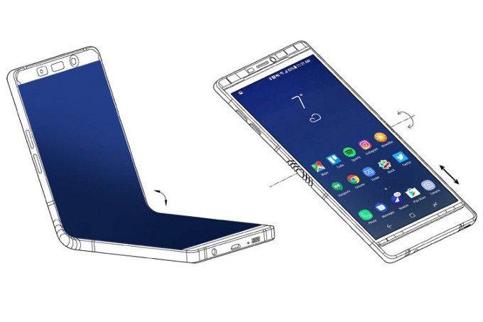 Samsung Galaxy X ARATA Noul Design 1